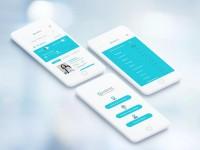 Интерфейс мобильного приложения по поиску врача