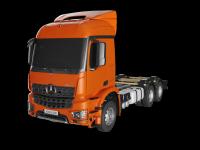 Визуализация грузовиков