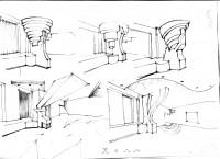 Рисунок интерьера -4