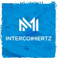 Дизайн корпоративного сайта Интеркомертс. 3D иллюстрации, техдизайн.