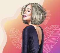 Серия иллюстраций для салона красоты Barbie Bar