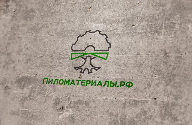 """Создание логотипа и фирменного стиля """"Пиломатериалы.РФ"""" фото f_096530a925529c15.jpg"""