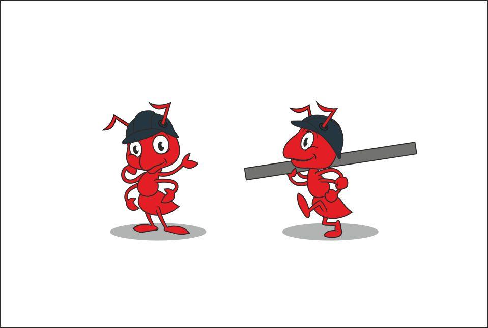 "Необходимо разработать дизайн персонажа ""Муравей"" для сайта  фото f_404577b310ccd359.jpg"