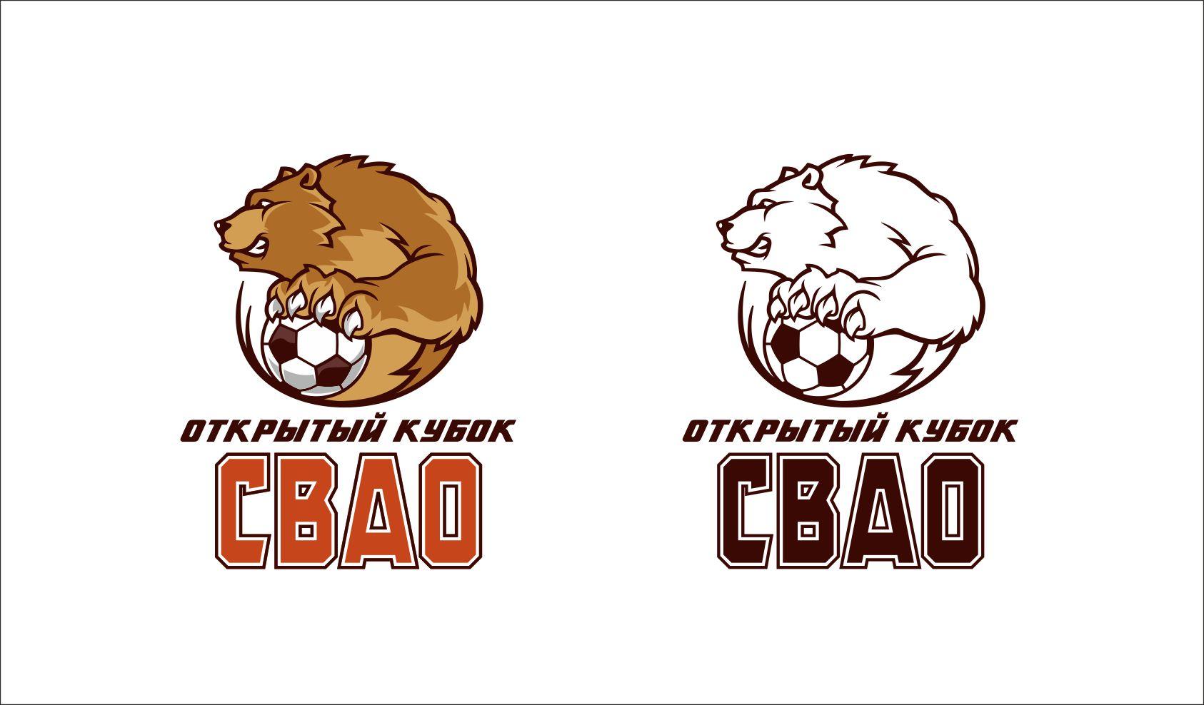 Логотип на тему футбола