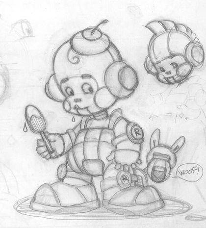 """Модель Робота - Ребёнка """"Роботёнок"""" фото f_4b5135ae13080.jpg"""