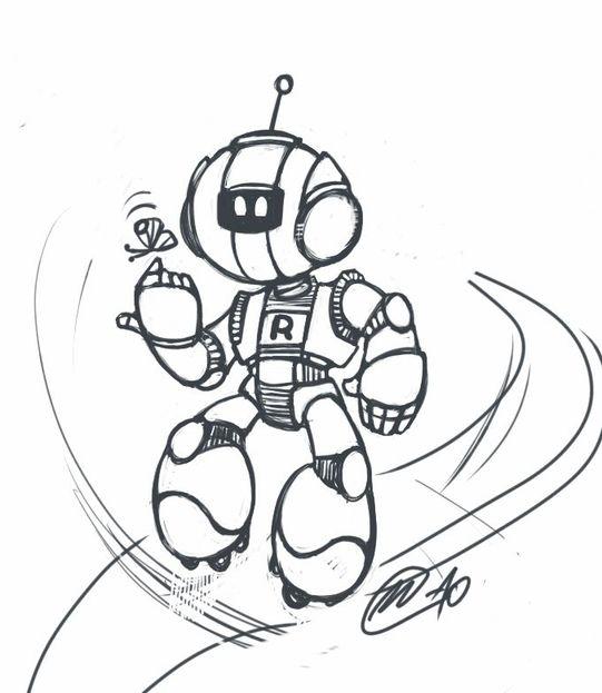 """Модель Робота - Ребёнка """"Роботёнок"""" фото f_4b53ca9dc5dbe.jpg"""