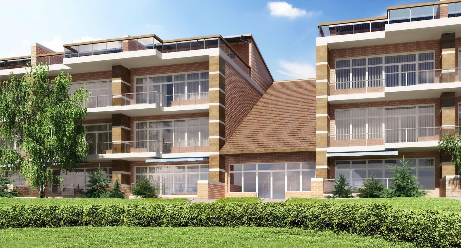 Апартаменты Вилла Рива — визуализации