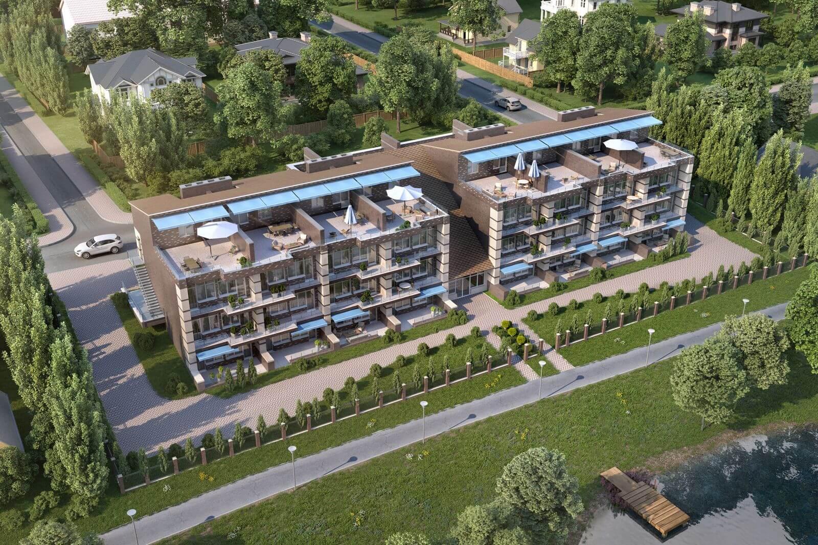 Новые визуализации — апартаменты Вилла Рива