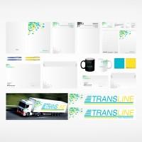 """Фирменный стиль компании """"Transline"""""""