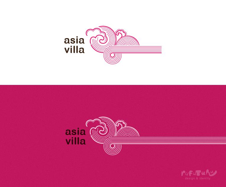 Asia Villa. Логотип 1.0