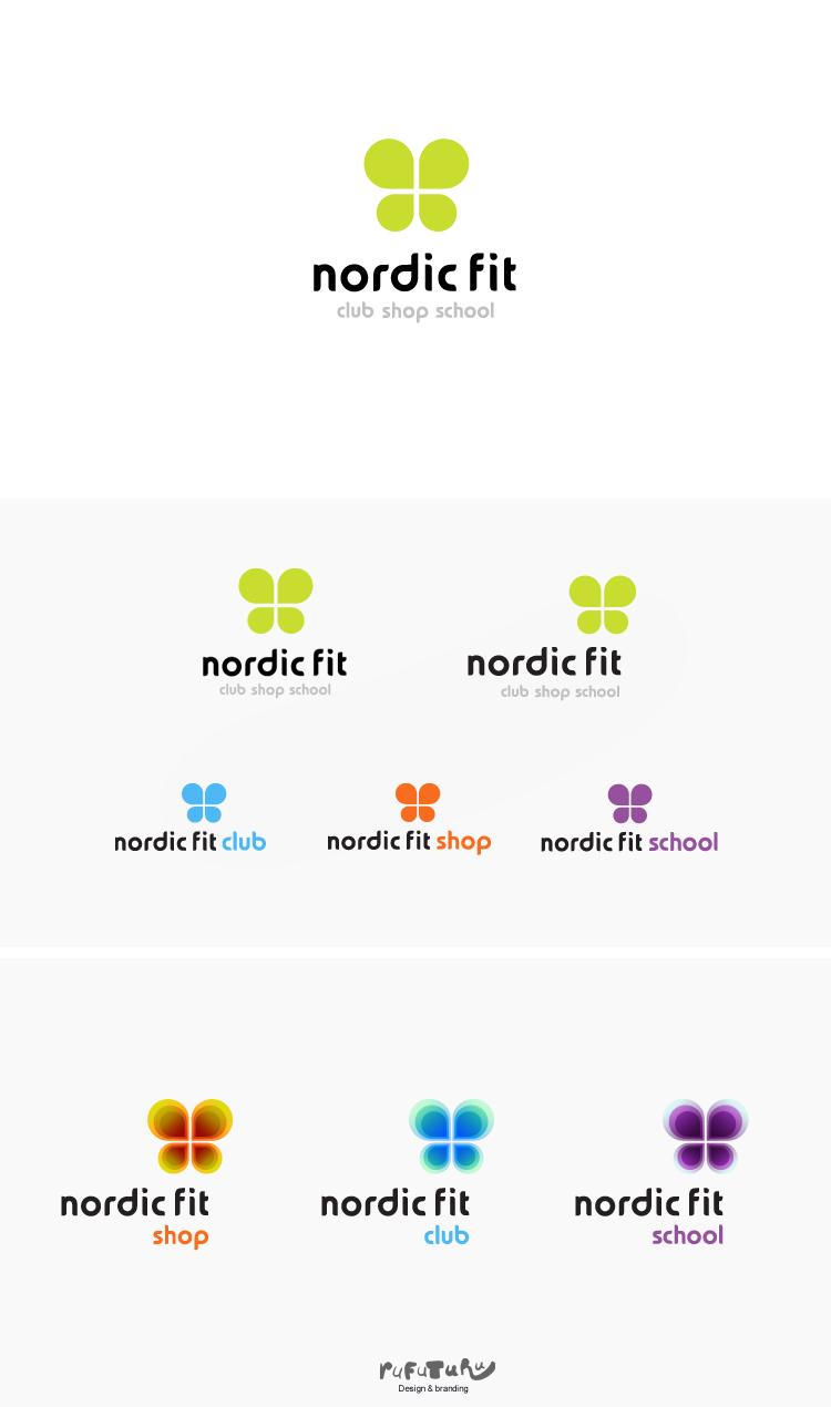 Nordic Fit. Логотип
