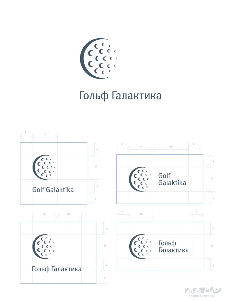 Golf Galaktika. Логотип