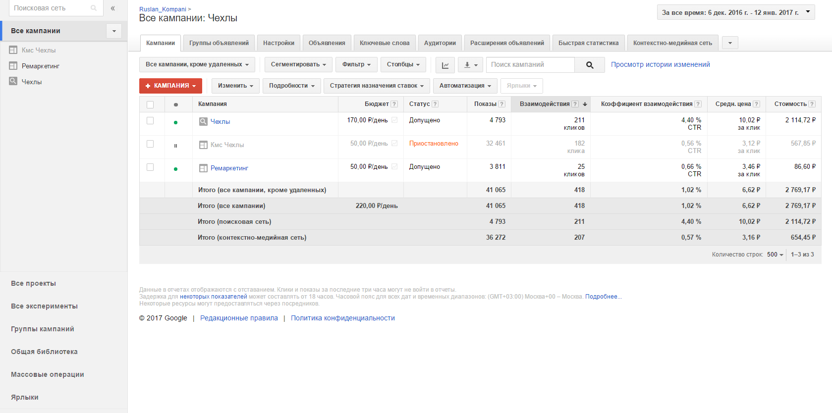 Реклама Гугл Адвородс для Печати на Чехлал