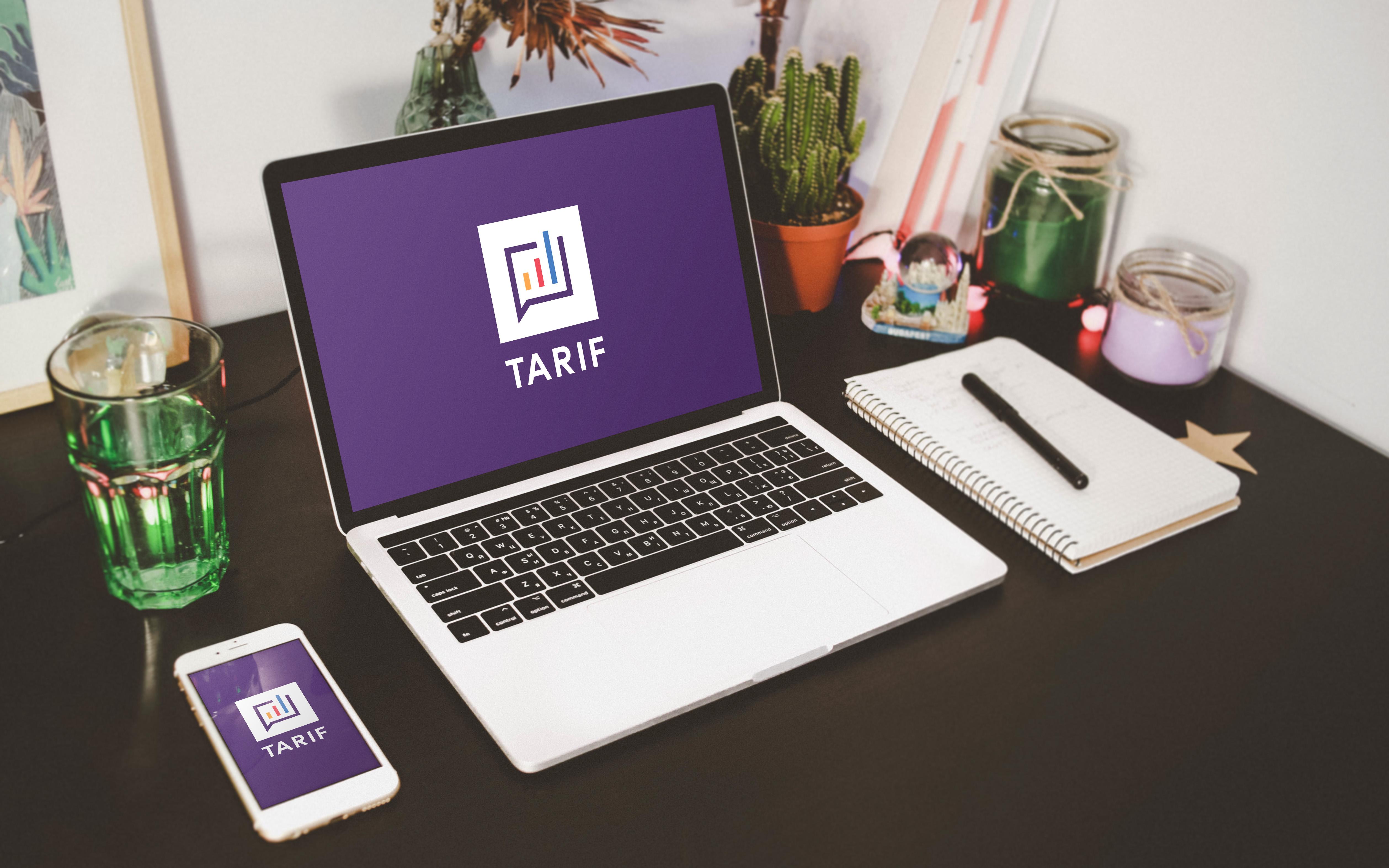 "Разработка логотипа ""TARIF"""