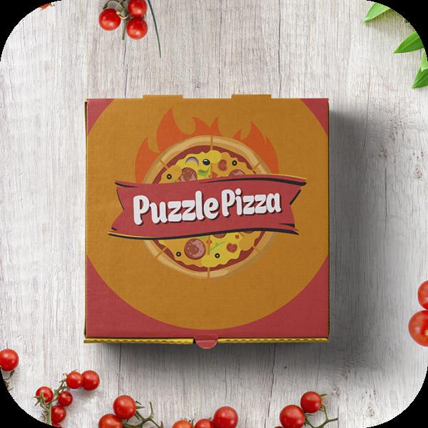 """Логотип для ресторана """"PuzzlePizza"""""""