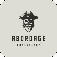 "Разработка логотипа для барбершопа ""ABORDAGE"""