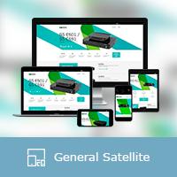 """Адаптивная верстка сайта компании """"General Satellite"""""""
