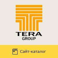 """Сайт """"Tera-Group"""" - продажа металлопроката и пластиковых труб"""