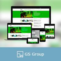 """Адаптивная верстка сайта компании """"GS Group"""""""