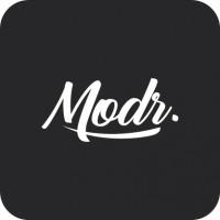 """Разработка логотипа для студии по разработке MobileApp """"Modr."""""""