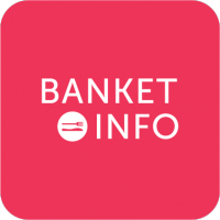 """Разработка логотипа для агрегатора """"Banket.info"""""""