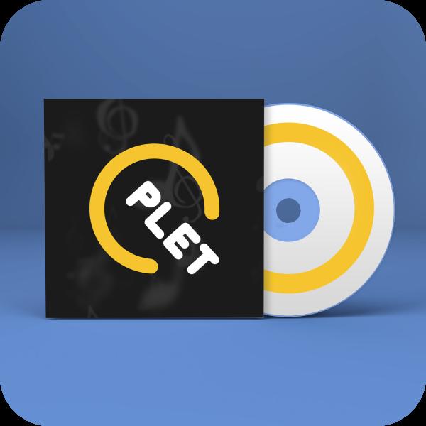 """Логотип для музыкального портала """"QPLET"""""""