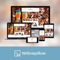 """Адаптивная верстка интернет магазина """"Willow"""""""
