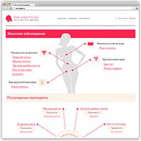 """Сайт """"Eva-health.ru"""" под ключ"""