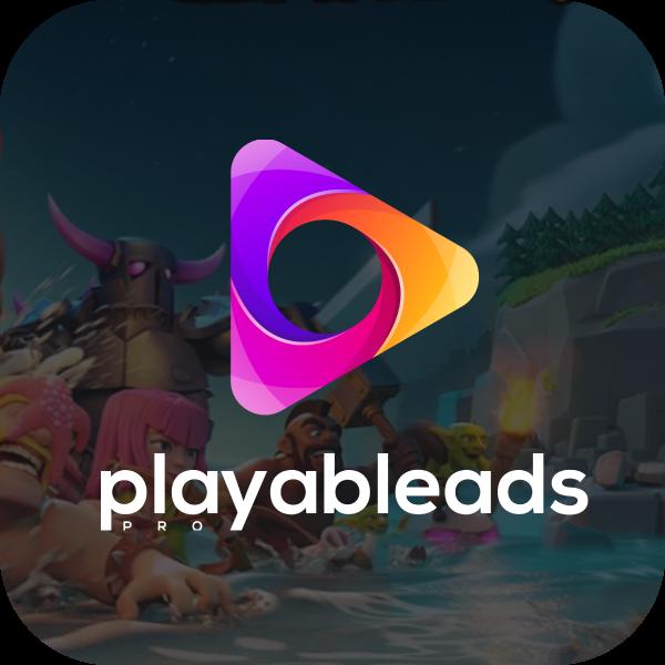 "Разработка логотипа для сайта ""Playableads.pro"""