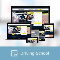 """Адаптивная верстка портала """"Driving School"""""""