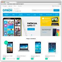 """Верстка сайта и ЛК интернет магазина """"Орион"""""""