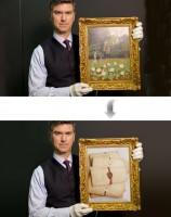 Замена изображения на картине