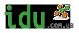 Логотип для сайта (idu)