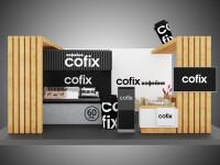 Визуализация выставочного стенда компании Cofix