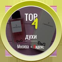 Духи ТОП - 4 (Москва)