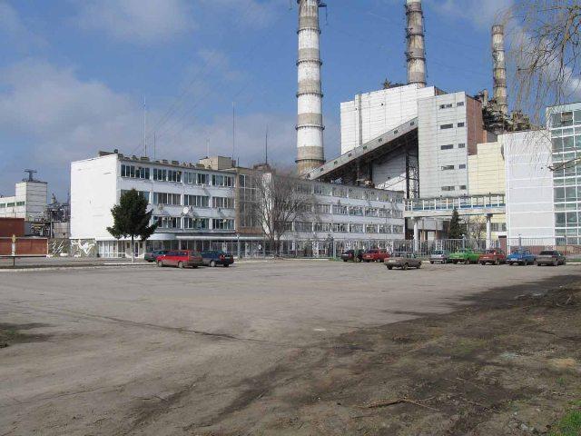 Благоустройство территории перед проходной ЗАО «Молдавская ГРЭС».