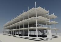 Конструктивное решение спальных корпусов на берегу Черного моря