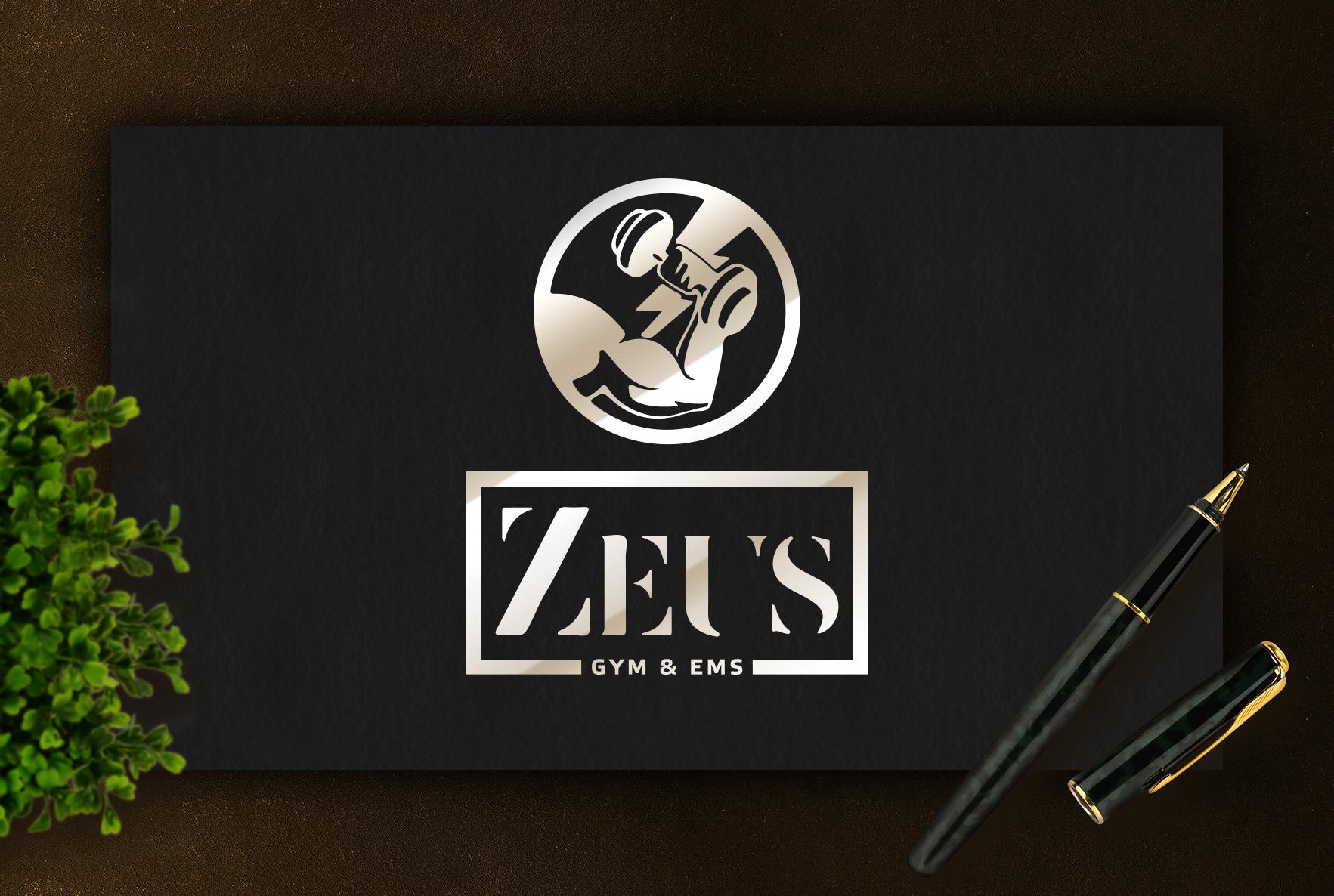 Логотип для спортзала
