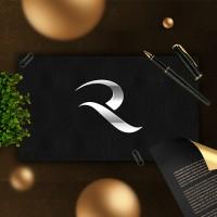 Отрисовка буквы R для торговой компании