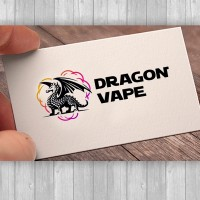 Dragon Vape - логотип для магазина