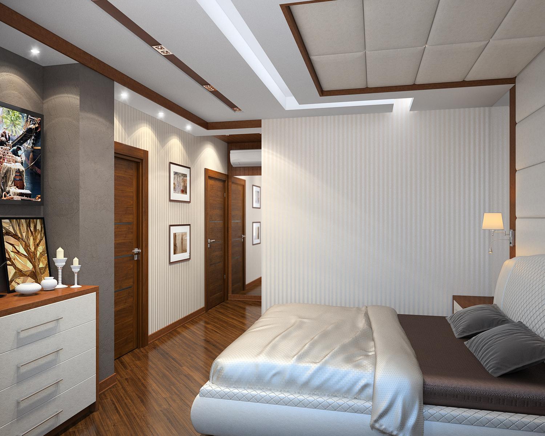 Решение спальни в современном стиле 3