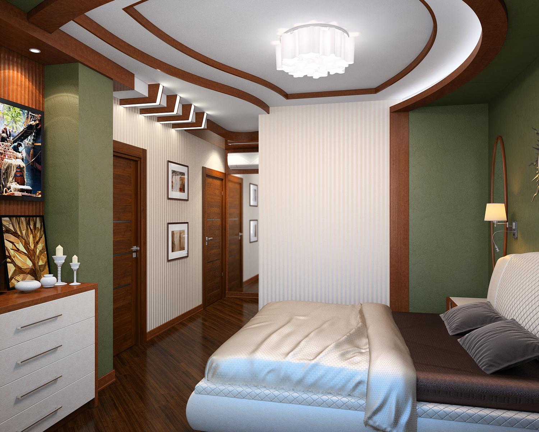 Решение спальни в современном стиле