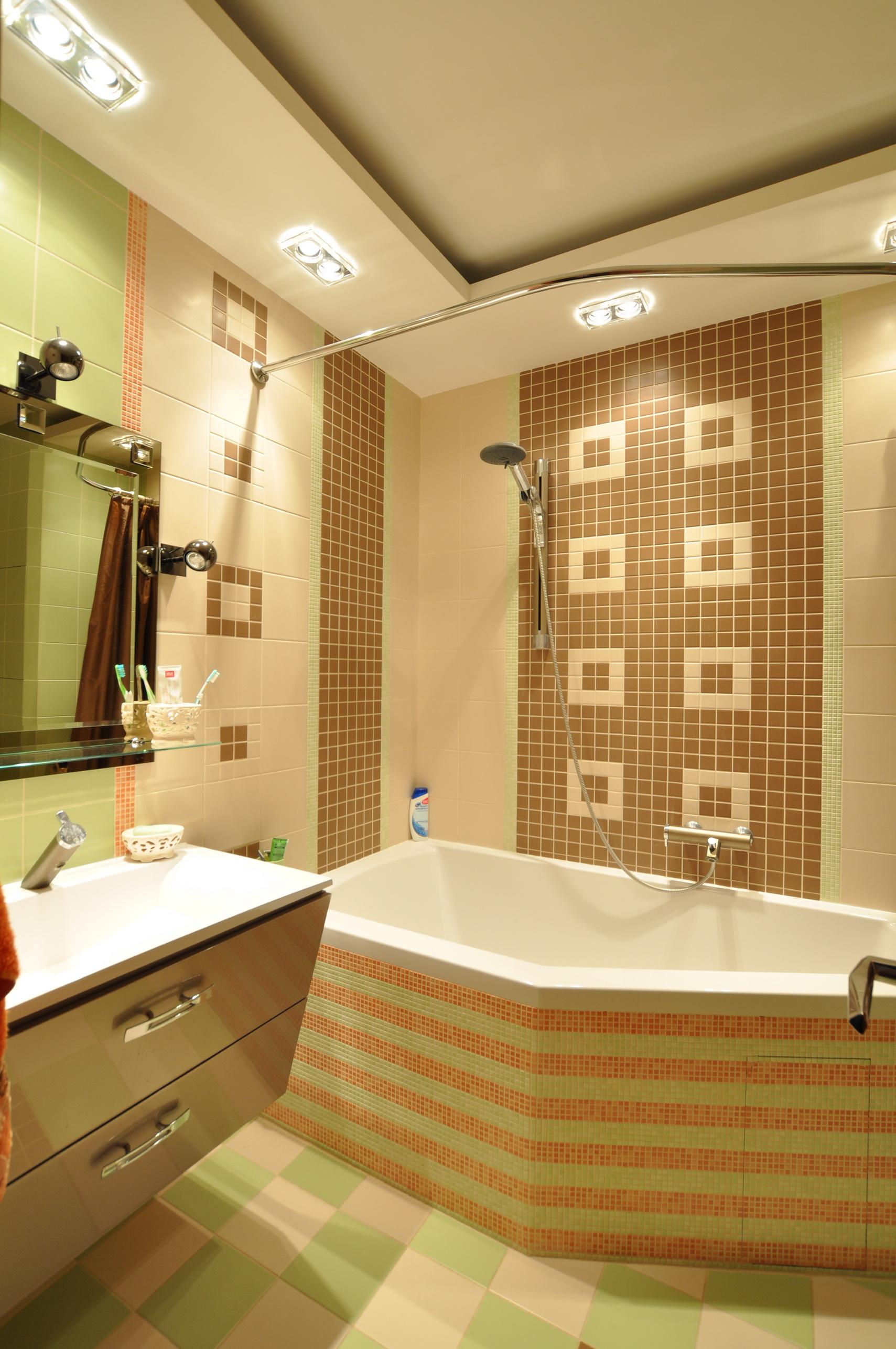 Квартира на ул. Одесская S=55 кв м. Ванная.