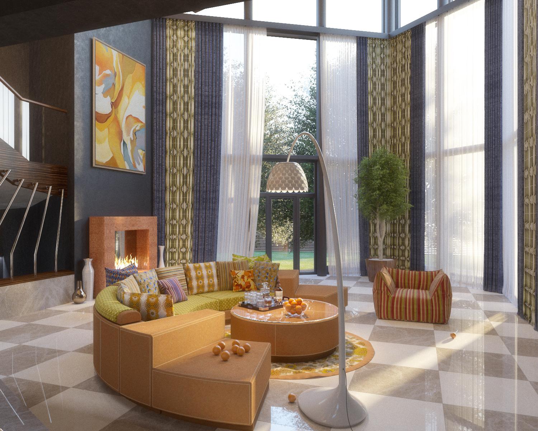 Частный дом в современном стиле.
