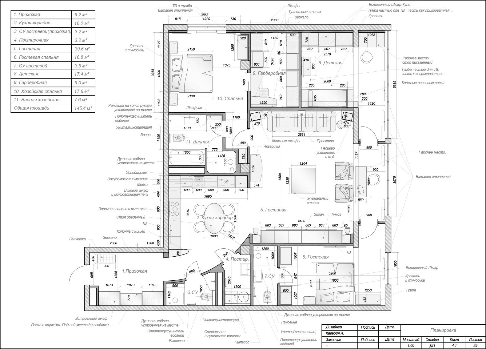 Планы для квартиры на Ленинградском шоссе 25