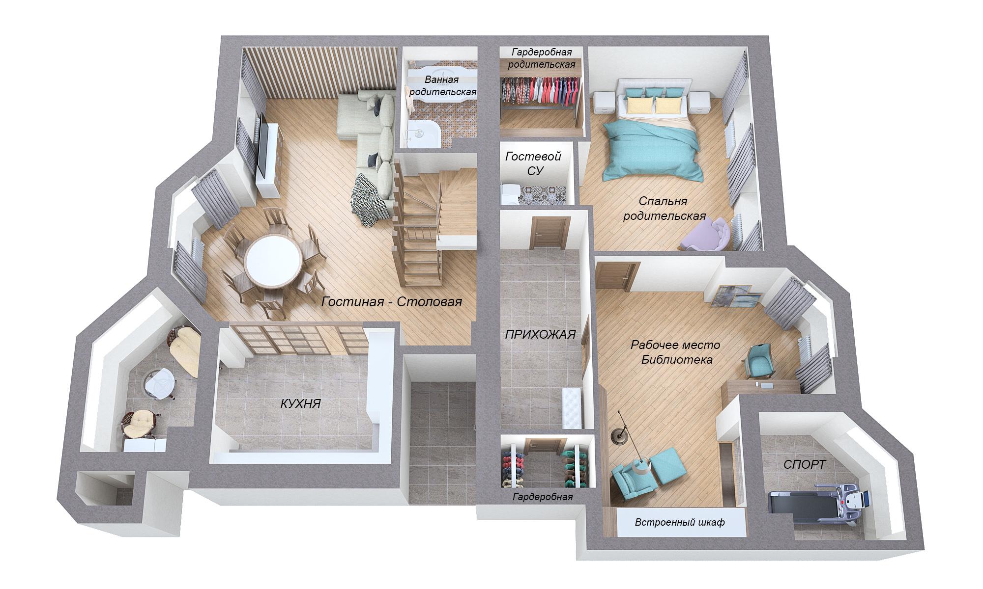 Объединение + планировка квартиры (~260 кв.м.) фото f_7785a5266c5d565d.jpg