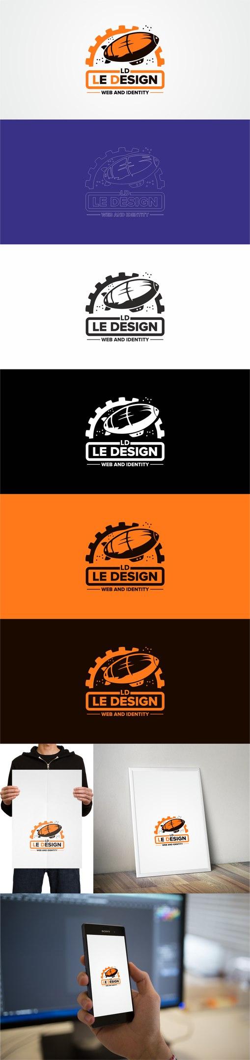 Разработка логотипа Le Design