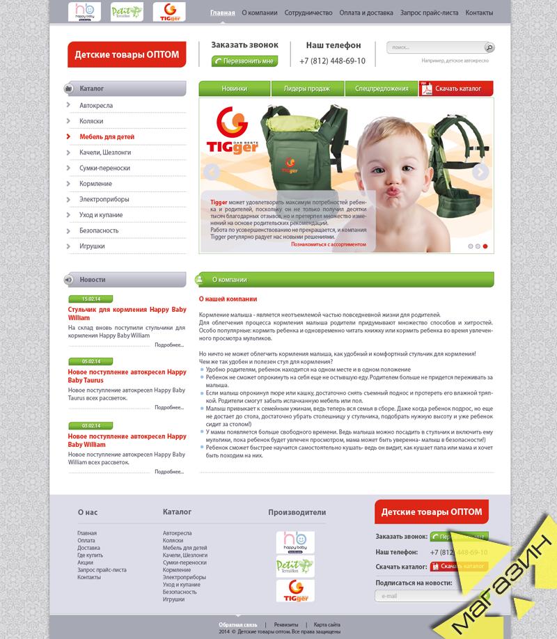 Интернет-магазин детских товаров ОПТОМ