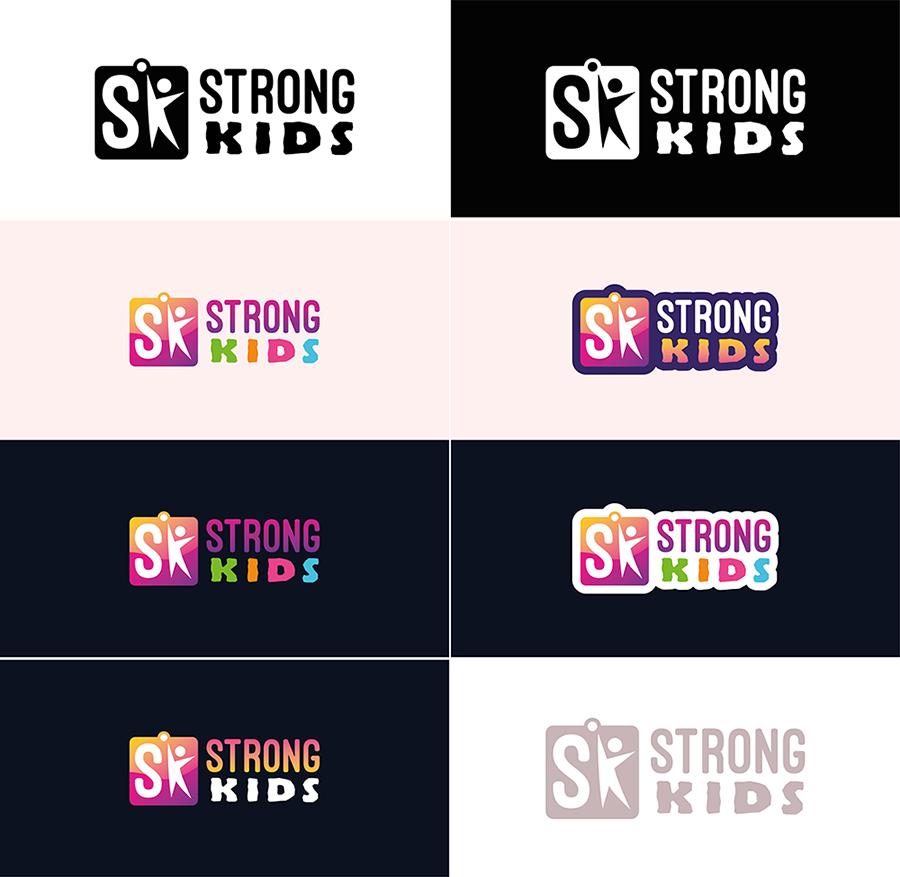 Логотип для Детского Интернет Магазина StrongKids фото f_1585c646f297861f.jpg