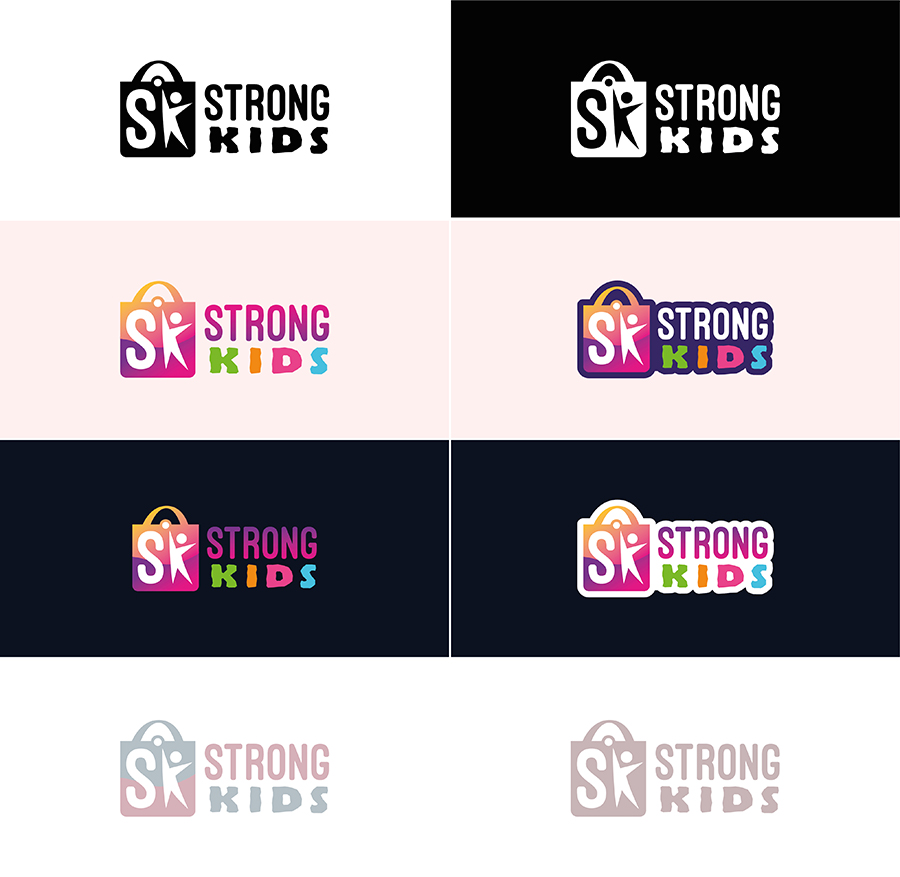 Логотип для Детского Интернет Магазина StrongKids фото f_2065c646f1b584d1.jpg